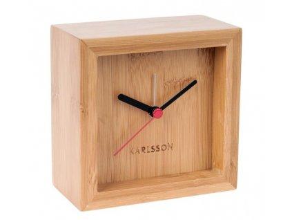 Bambusové stolní hodiny Corky