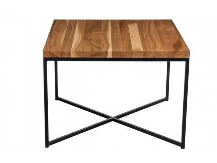 Konferenční stolek Tacros II 100x100 cm , třešeň/černá