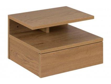 Hnědý noční stolek Alison