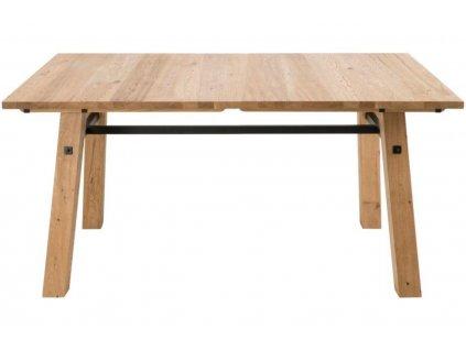 Přírodní dubový jídelní stůl Kiruna 160 cm