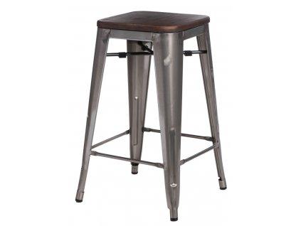 Designová barová židle Tolix 65 v industriálním stylu