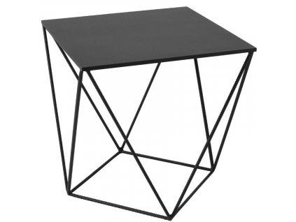 Černý kovový konferenční stolek Deryl 60x60 cm848x848