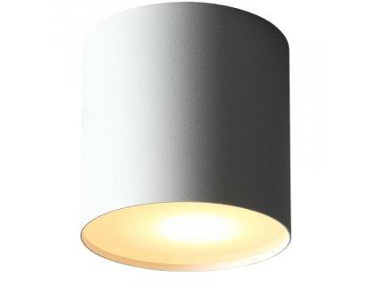 Bílé kovové bodové světlo U-M848x848
