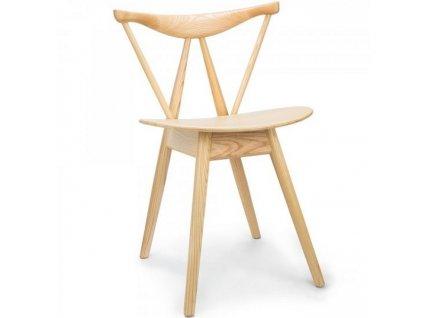 Dřevěná jídelní židle Evelin