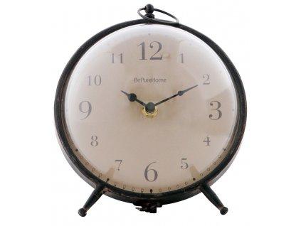 Černé stolní hodiny Bubbler