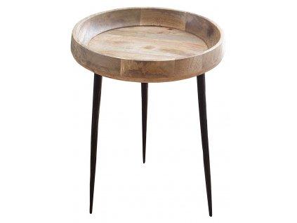 Masivní odkládací stolek Marigo