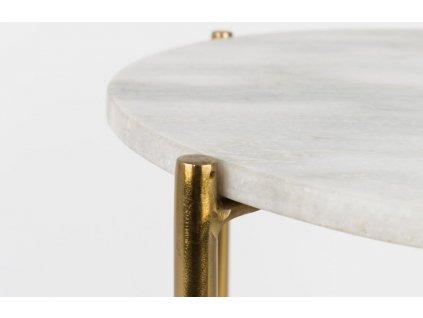 Bílý stolek WLL Timpa
