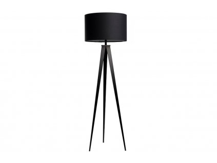 Černá stojací lampa ZUIVER TRIPOD 157 cm