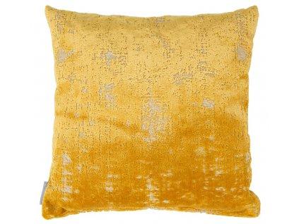 Žlutý polštář ZUIVER SARONA
