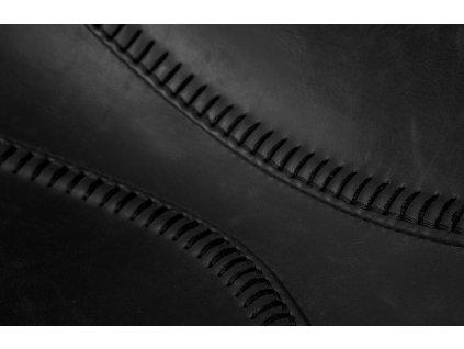 Černá jídelní židle DUTCHBONE FRANKY FFRs