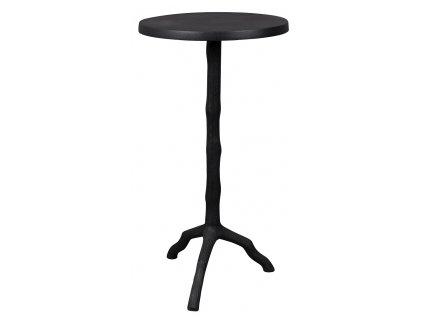 Černý odkládací stolek DUTCHBONE TWIG, velká nosnost, hliník