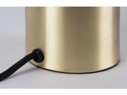 Mosazná stolní lampa ZUIVER GRINGO motiv včelího plástve