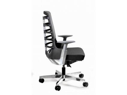 Kancelářská židle Spin S, látka, černá