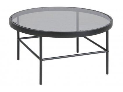 Skleněný konferenční stolek Tonya 80 cm