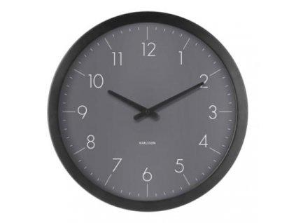 Šedé nástěnné hodiny Marien