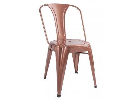Jídelní židle Atago, měděná