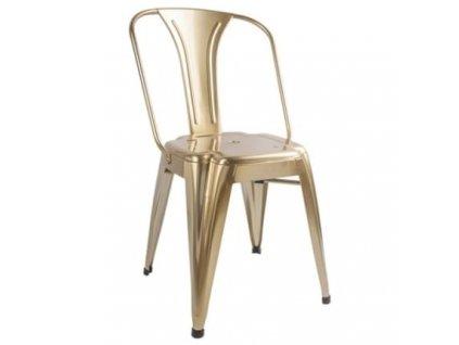 Jídelní židle Atago, zlatá