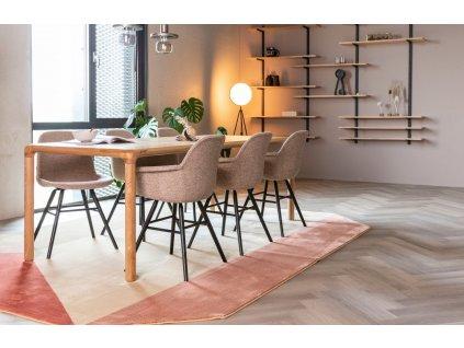 Přírodní stůl ZUIVER STORM 180x90 cm