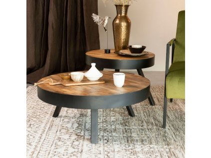 Dřevěný stolek WLL Suri