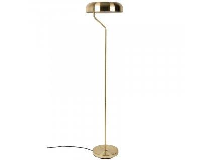Zlatá stojací lampa DUTCHBONE Eclipse O 30 cm