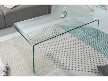 Skleněný konferenční stolek Living 110x60