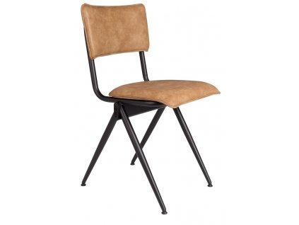 Světle hnědá jídelní židle DUTCHBONE WILLOW