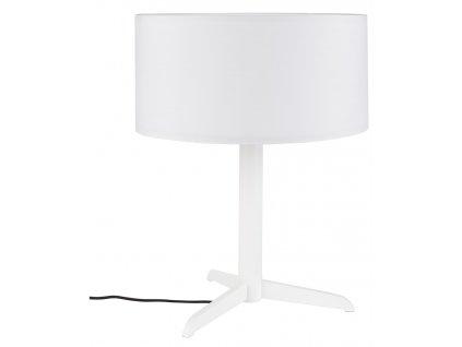 Bílá stolní lampa ZUIVER SHELBY
