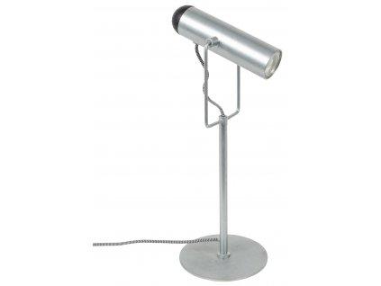 Pozinkovaná kovová stolní lampa ZUIVER MARLON