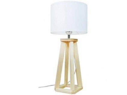 Stolní lampa LF 20, přírodní podnož