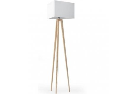 Stojací lampa LF 27, přírodní podnož