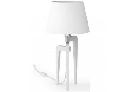 Stolní lampa LF 26, bílá podnož
