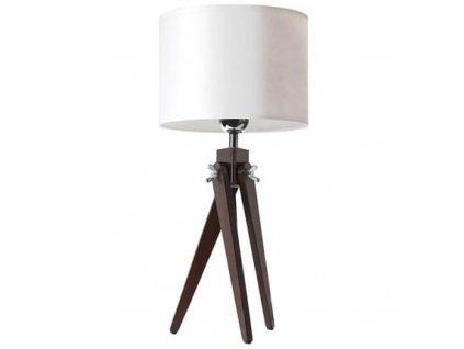 Stolní lampa LF 16, ořechová podnož