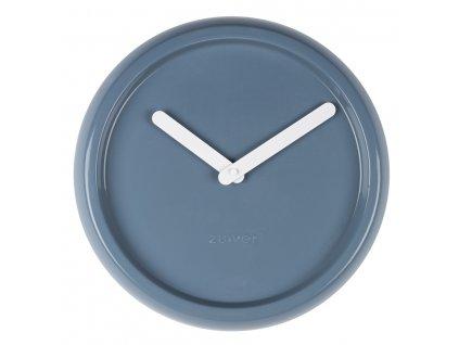 Nástěnné hodinyZUIVER CERAMICØ 35 cm keramika modré