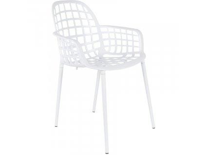 Bílá stohovatelná kovová židle ZUIVER ALBERT KUIP GARDEN848x848