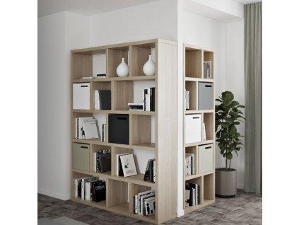 Dubová knihovna Castelo 5 150 x 34 cm