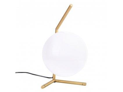 Mosazná stolní lampa Sagre I.