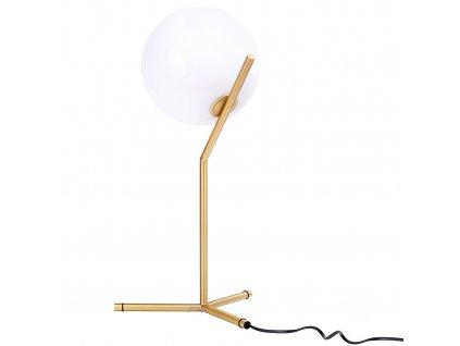 Designová mosazná stolní lampa Sagre II.