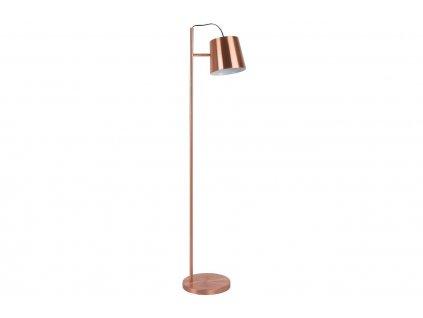 Měděná stojací lampa ZUIVER BUCKLE