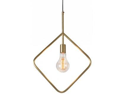 Mosazné závěsné světlo LaForma Addra 58 cm