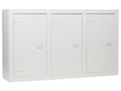 Bílá komoda Aria 177 x 41 cm