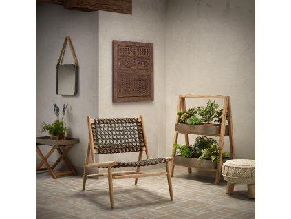 Dřevěný multifunkční odkládací stolek LaForma Stahl