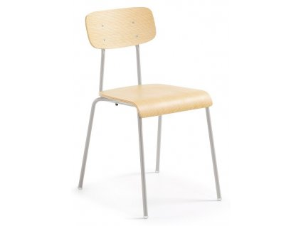 Šedá kovová židle LaForma Klee