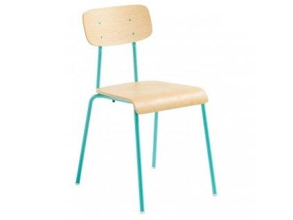 Zelená kovová židle LaForma Klee
