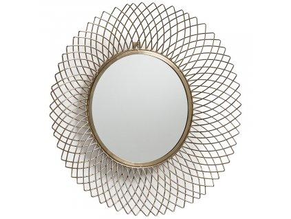 Mosazné závěsné zrcadlo LaForma Juice 65 cm