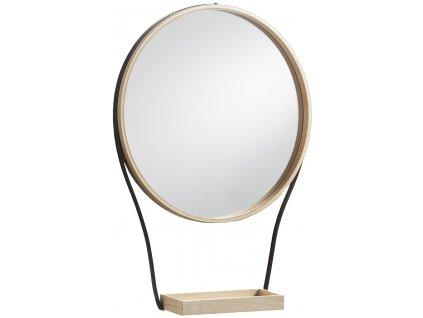 Závěsné dřevěné zrcadlo LaForma Barlow