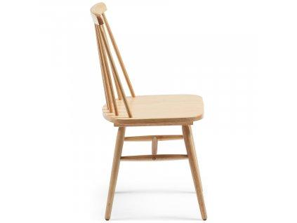 Přírodní dřevěná jídelní židle LaFormaKristie