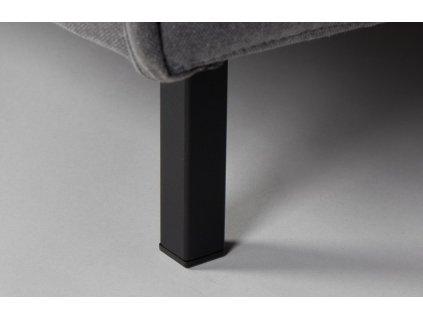 Tmavě šedá čalouněná pohovka ZUIVER JAEY 181 cm
