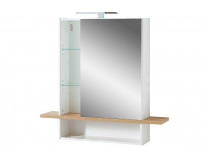 Bílá zrcadlová skříňka Germania Novolino 1436 90 x 25 cm