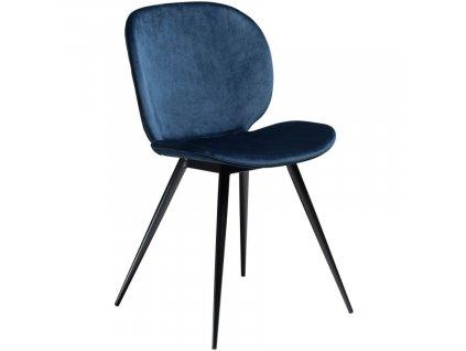Modrá jídelní židle DanForm Cloud