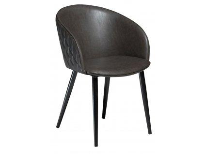 Šedá židle Danform Dual